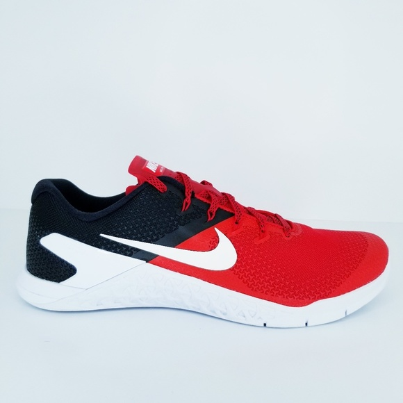 Nike Other - Nike Metcon 4  Red Black Trainers Workout Crossfit